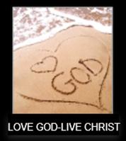 Love God Live Christ Image Updated 1